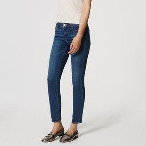 Ann Taylor LOFT Modern Skinny Jean Medium Wash